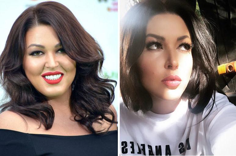 Ирина Дубцова до и после похудения