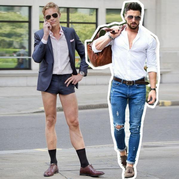 Дурацкая одежда, которую носят мужчины, а женщины ненавидят - Я Покупаю 0b3b5ef22df