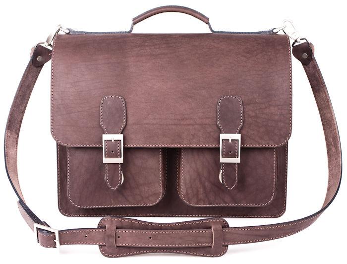 1777a52b6c6e Купить Кожаный портфель ручной работы Марс, коричневый в Санкт-Петербурге -  Я Покупаю