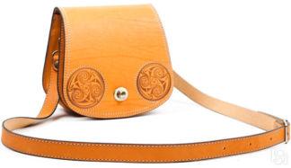1d7be9347483 Купить Женская кожаная сумка ручной работы Париж, коричневая в Санкт ...