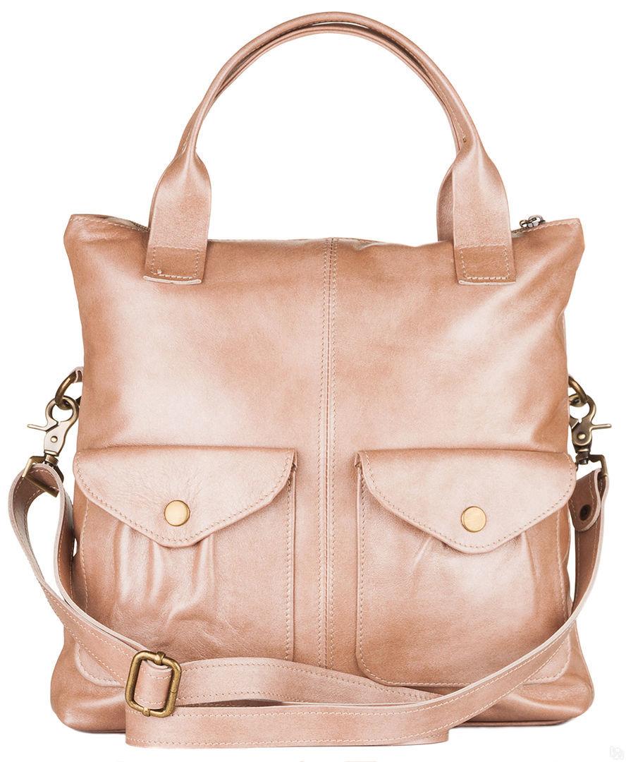 3961e53a1766 Купить Женская кожаная сумка Амели, бежевый перламутр в Санкт ...