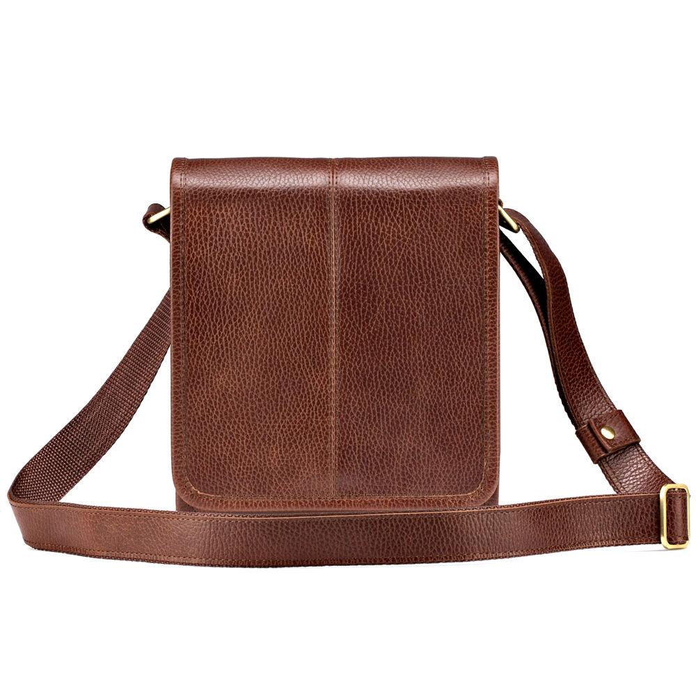 5bcafb6d7b88 Купить Мужская кожаная сумка Митчел мини, светло-коричневая в Санкт- Петербурге - Я Покупаю
