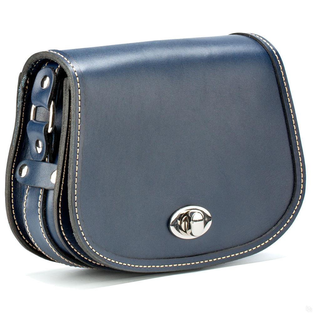ef8045c373b1 Купить Женская кожаная сумка Вивьен, синяя в Санкт-Петербурге - Я ...